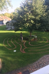 Walking the Grateful Heart Labyrinth